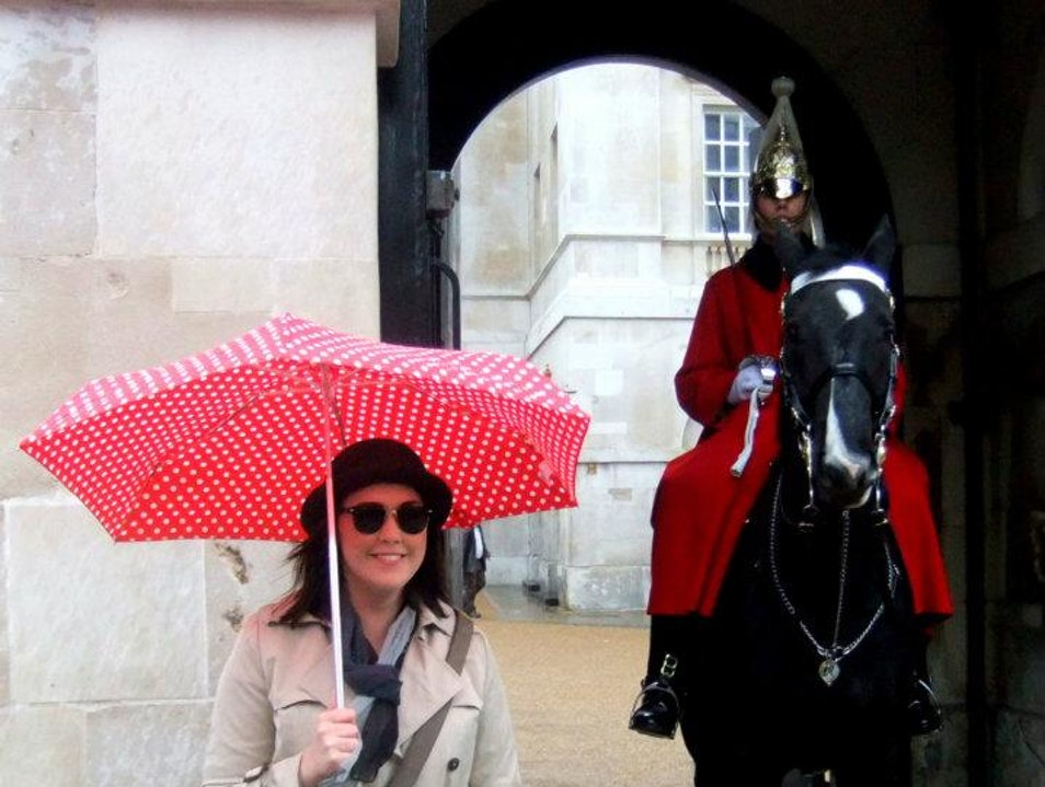 Rain horse London  United Kingdom