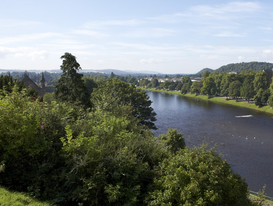 Inverness River Walk Inverness  United Kingdom