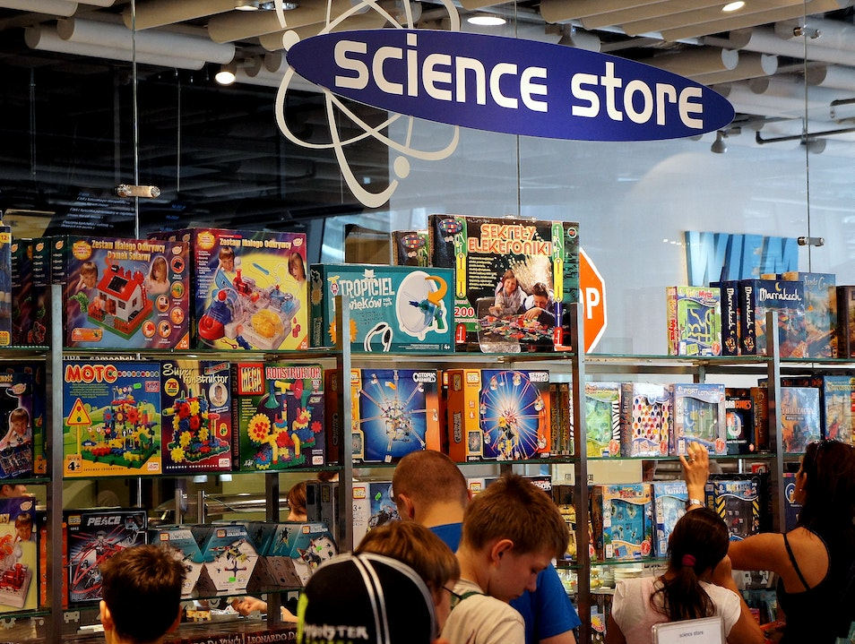 Science store Warsaw  Poland