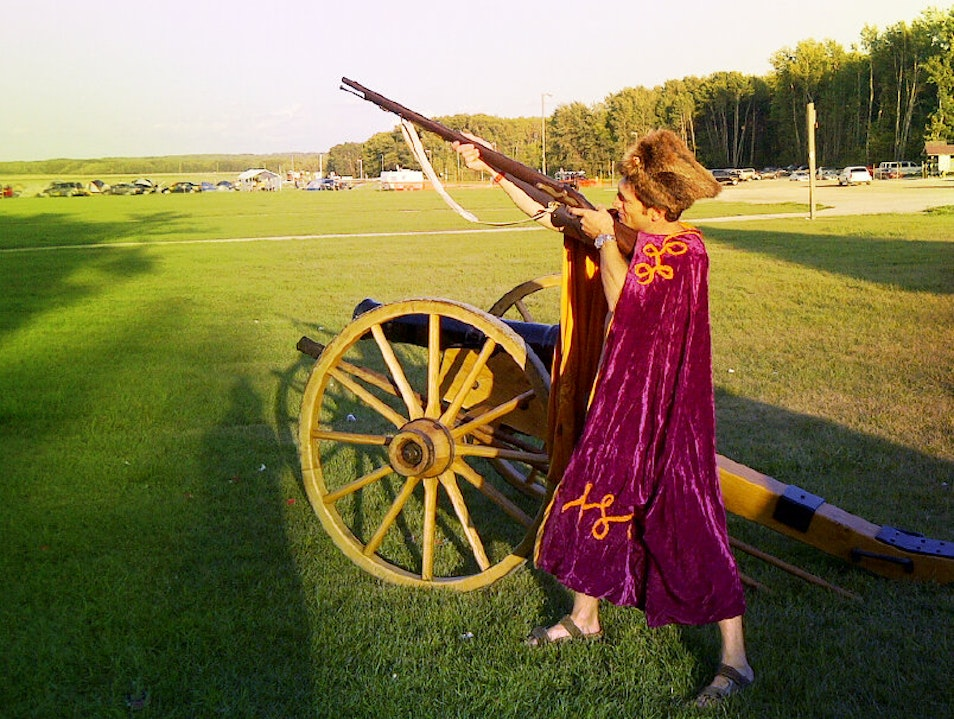 Be a Cossack! Fire a musket! Dauphin  Canada