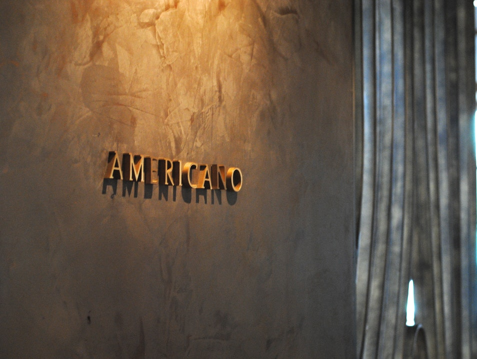 Californian-Italian at Americano San Francisco California United States