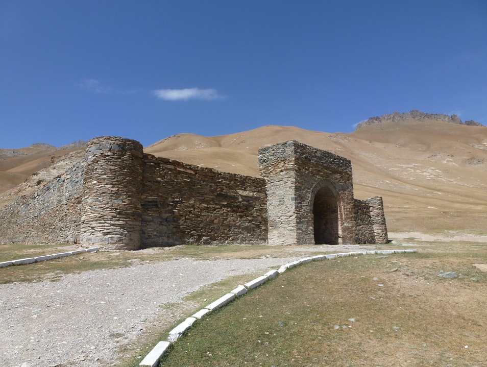 Silk road adventures in Naryn, Kyrgyzstan!