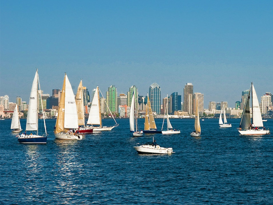 Sail on the Harbor San Diego California United States