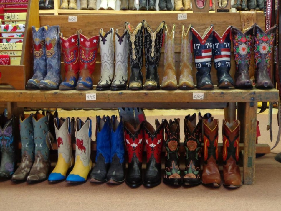 Big Selection of Cowboy Boots Santa Fe New Mexico United States
