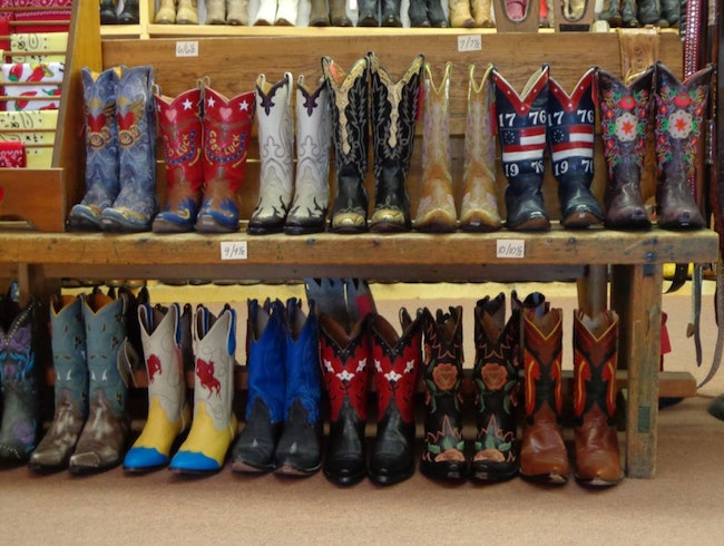 Big Selection of Cowboy Boots
