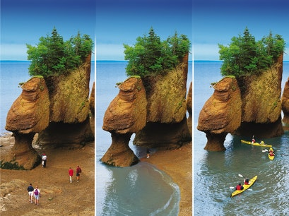 Hopewell Rocks Hopewell Cape  Canada