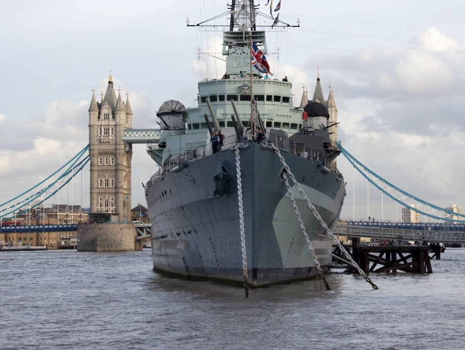 Battle Stations on the Thames