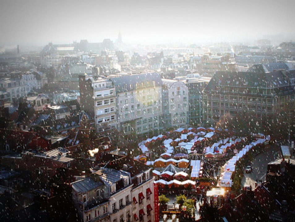 Christmas market in Lille Lille  France