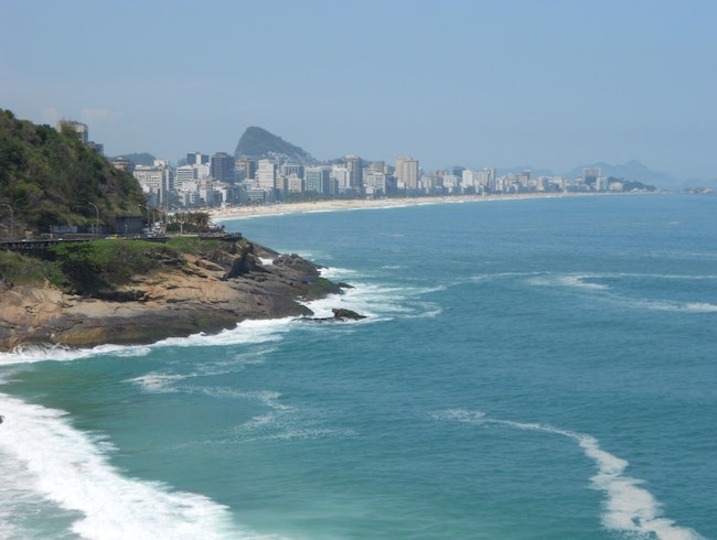 View of the Beaches in Rio
