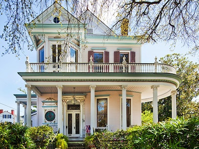 Garden District New Orleans Louisiana United States