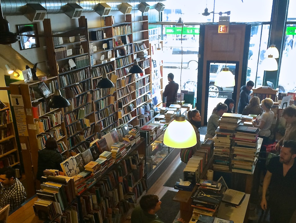 Get Lost in the Stacks at Myopic Books