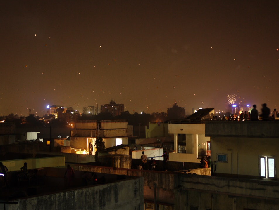 Uttarayan by Night Ahmedabad  India