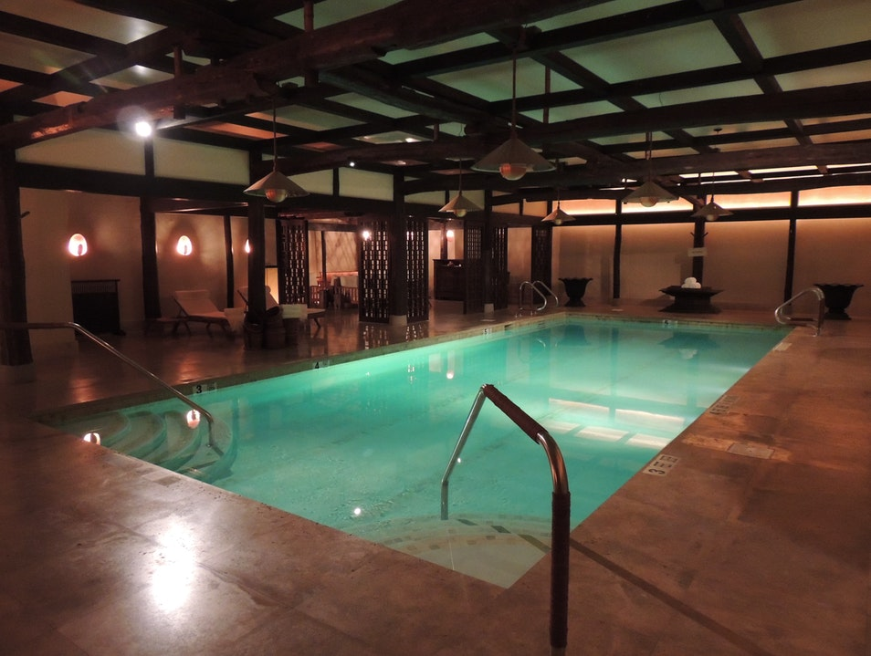 Shibui Spa Pool at The Greenwich Hotel