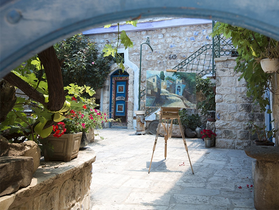 An Artists' City in Northern Israel Safed  Israel