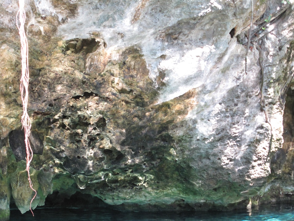 A Swim in El Gran Cenote