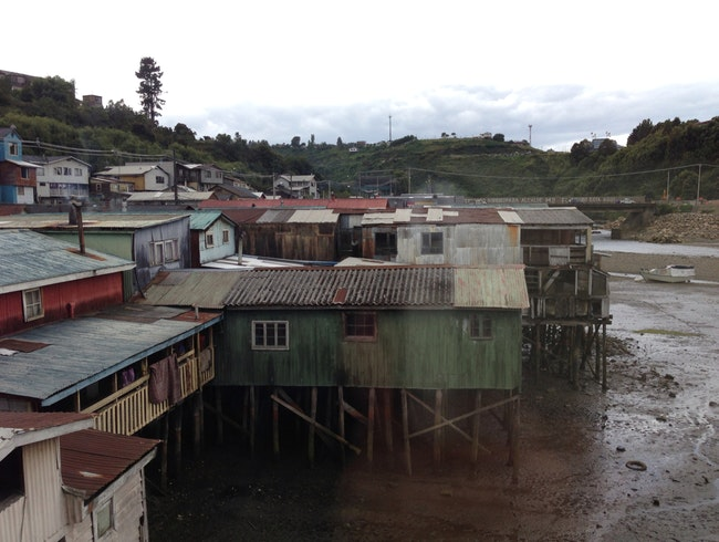 Stilt Houses in Chiloe