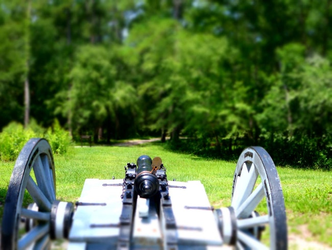 Moores Creek National Battlefield in Currie, NC