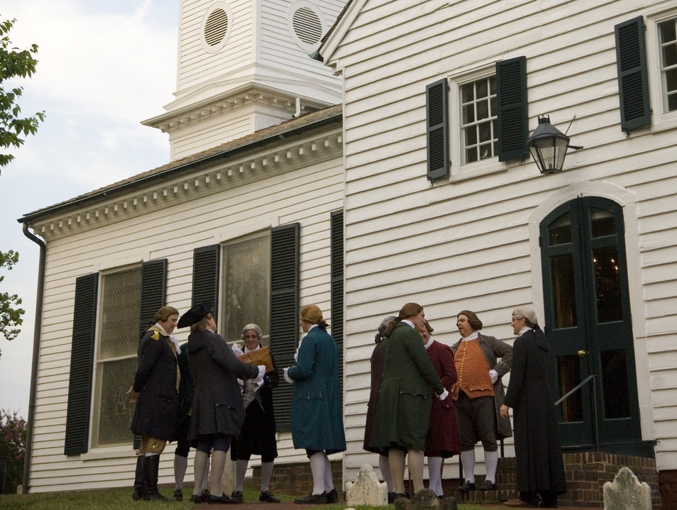 Where Patrick Henry Gave His Famous Speech