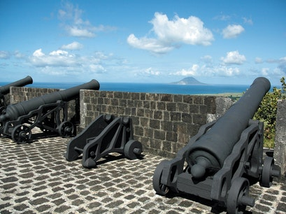 Brimstone Fortress Sandy Point Town  Saint Kitts and Nevis