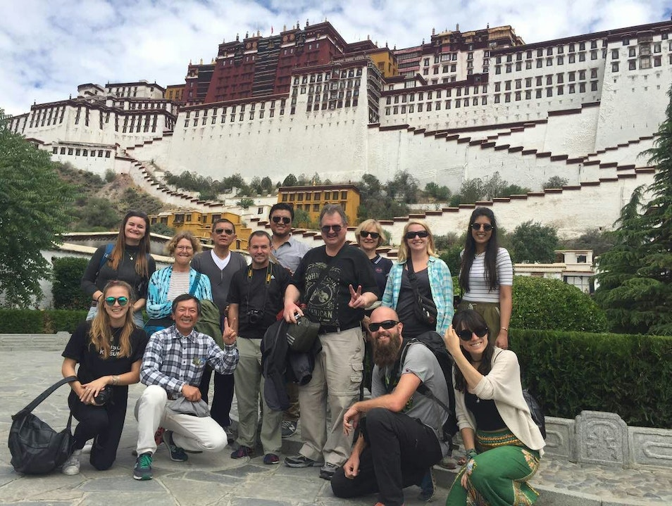 A tour to Potala Palace,Tibet Lasa  China