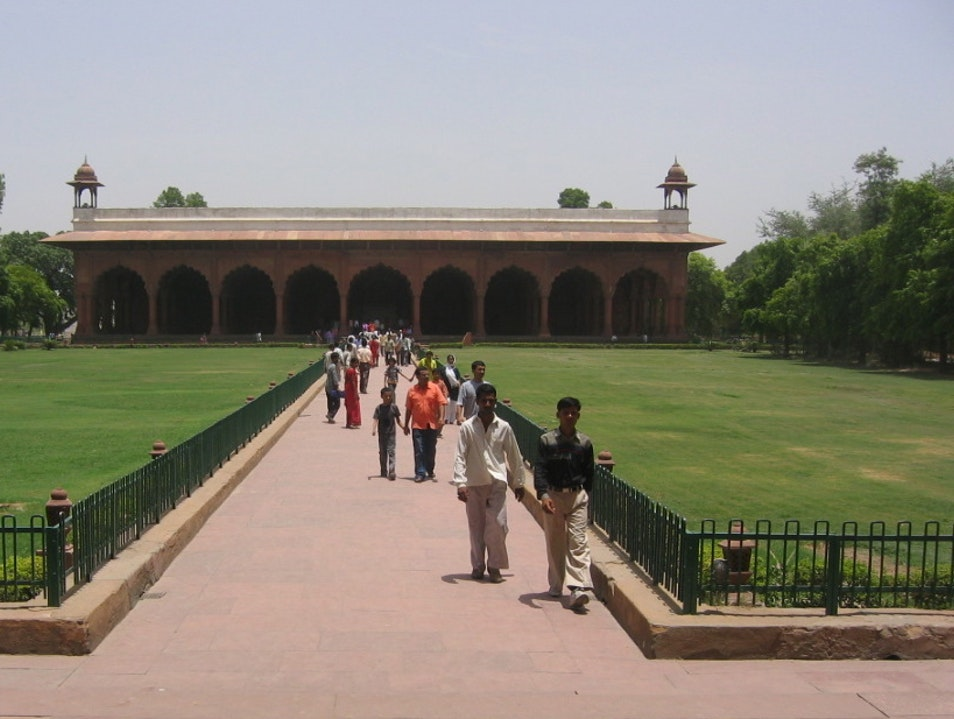 Diwan-i-'Am: Hall of Public Audience New Delhi  India