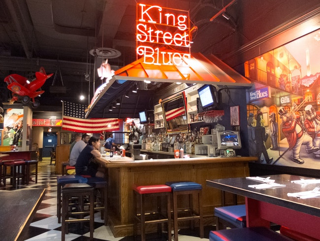 Laid-back Comfort at King Street Blues