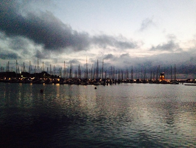 St Pete Harbour at sunrise