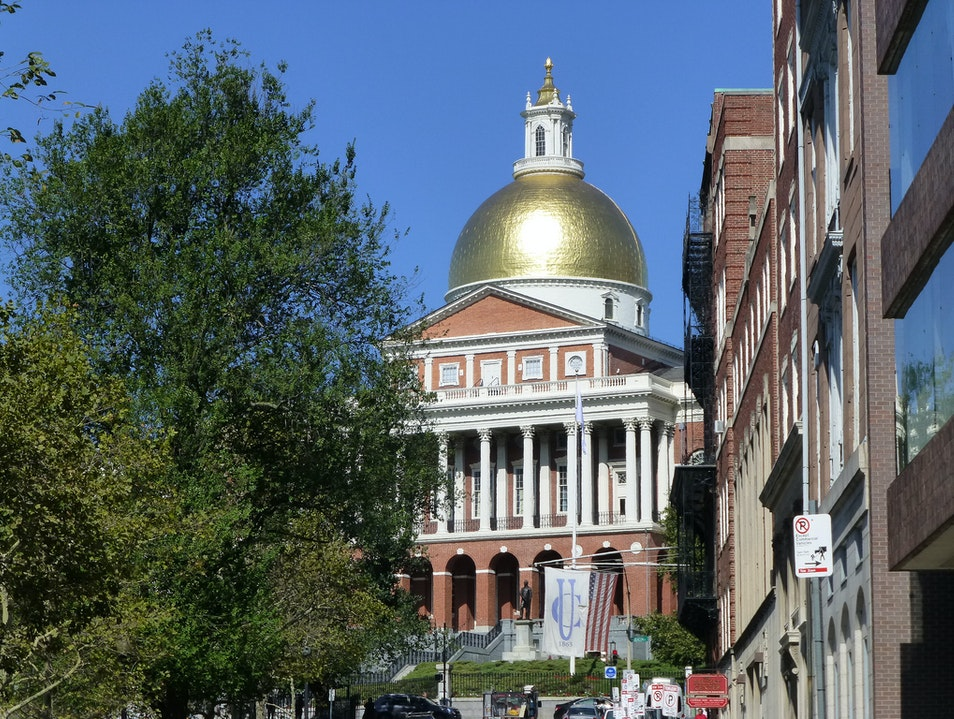 The Massachusetts State House Boston Massachusetts United States