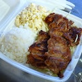 L&L Hawaiian Barbecue Honolulu Hawaii United States
