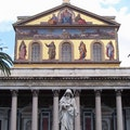 Basilica of Saint Paul Outside The Walls Rome  Italy