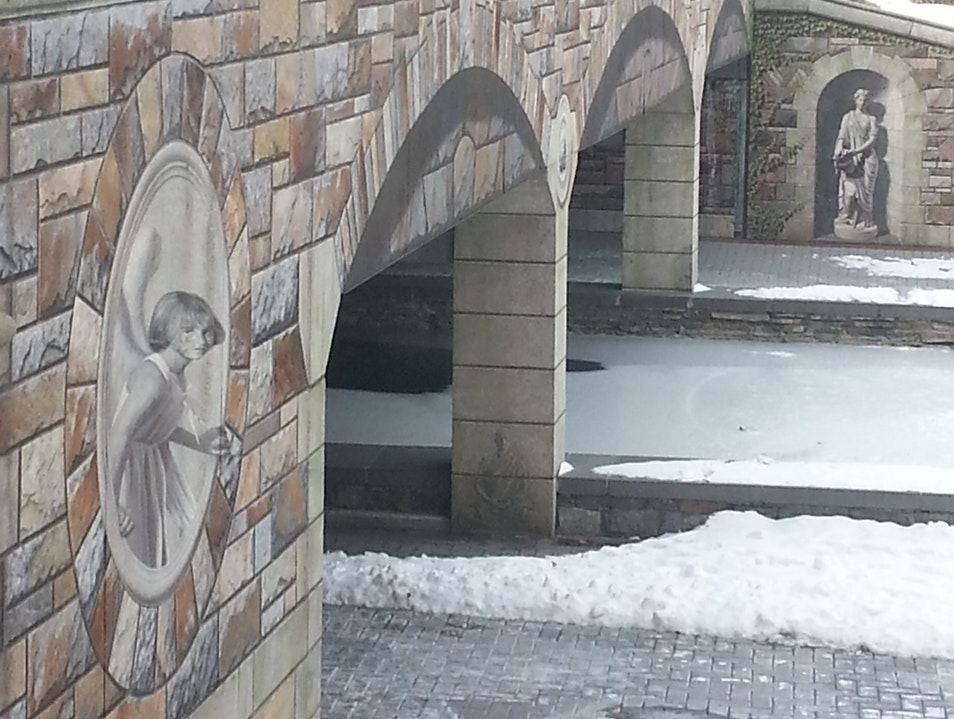 The Mural Bridge Frederick Maryland United States