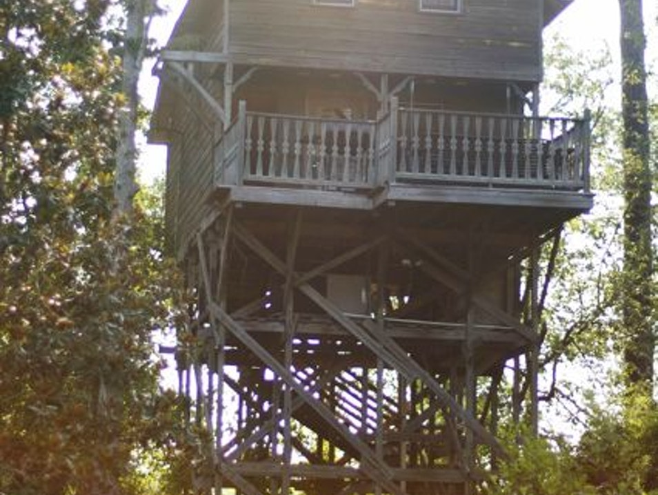Louisiana Treehouse New Orleans Louisiana United States