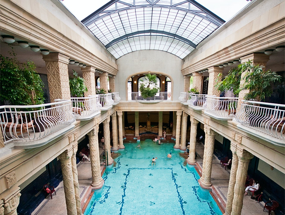 Relax in Budapest's Healing Waters