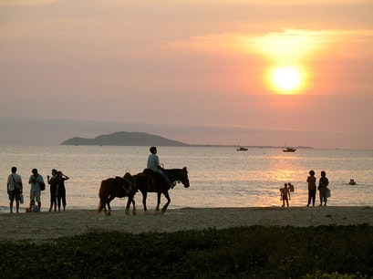 Horse Riding Tufu Bay Sanya  China