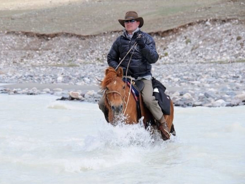 River Crossing In Mongolia  Must  Mongolia