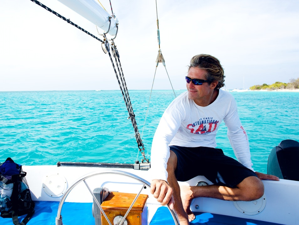 Set Sail to Buck Island and Beyond with Captain Carl