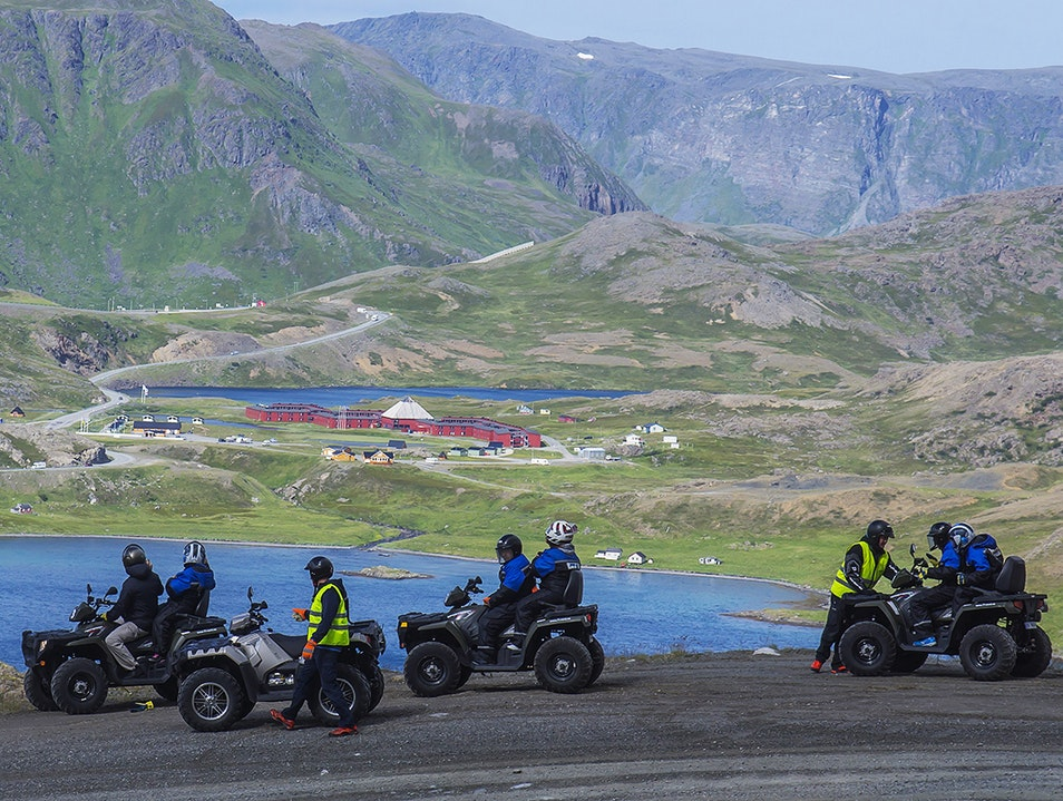ATV Safari Honningsvåg  Norway