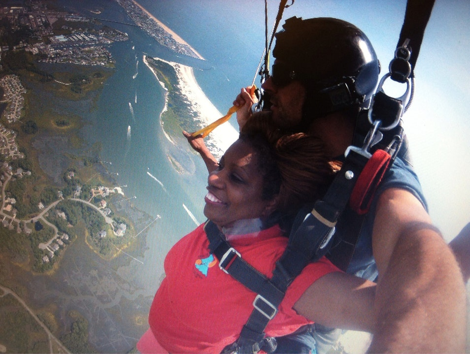 Sky Diving OC...The Extreme Experience