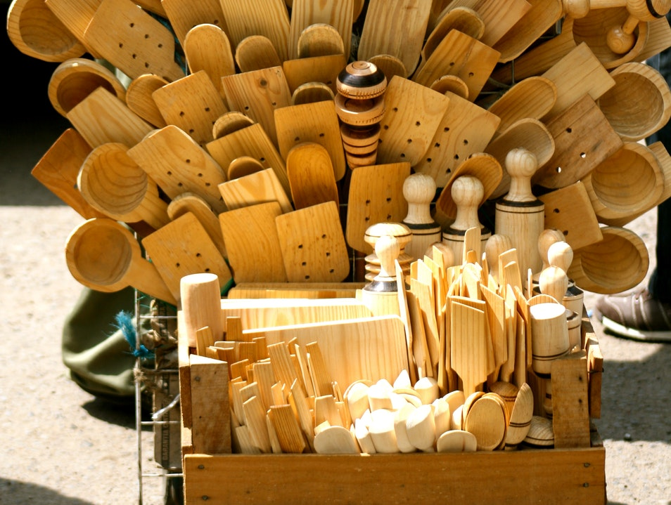 Shop for Kitchen Gadgets at Mercado de Merced  Mexico City  Mexico