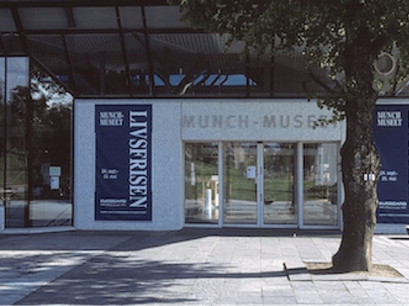 Edvard Munch Museum  Oslo  Norway