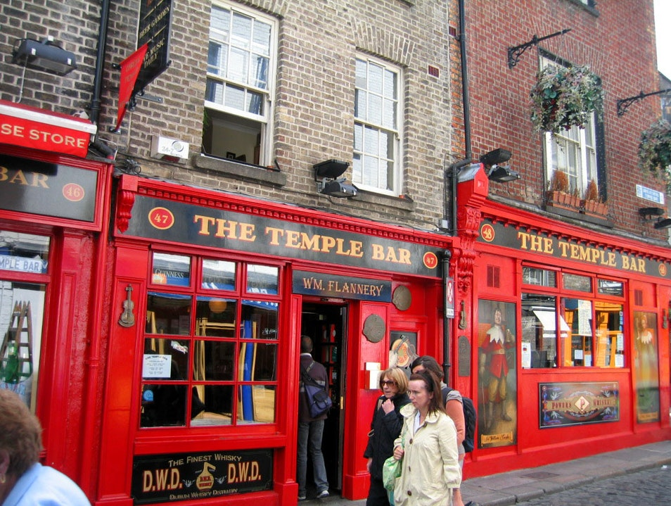 Temple Bar Dublin  Ireland