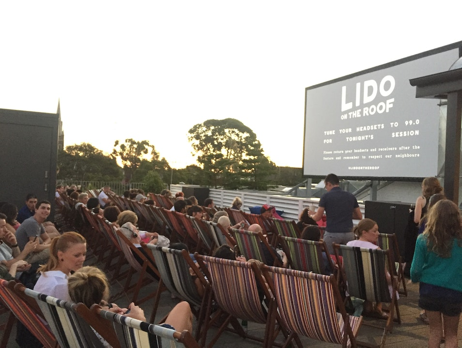 Rooftop Movie Theatre Hawthorn  Australia