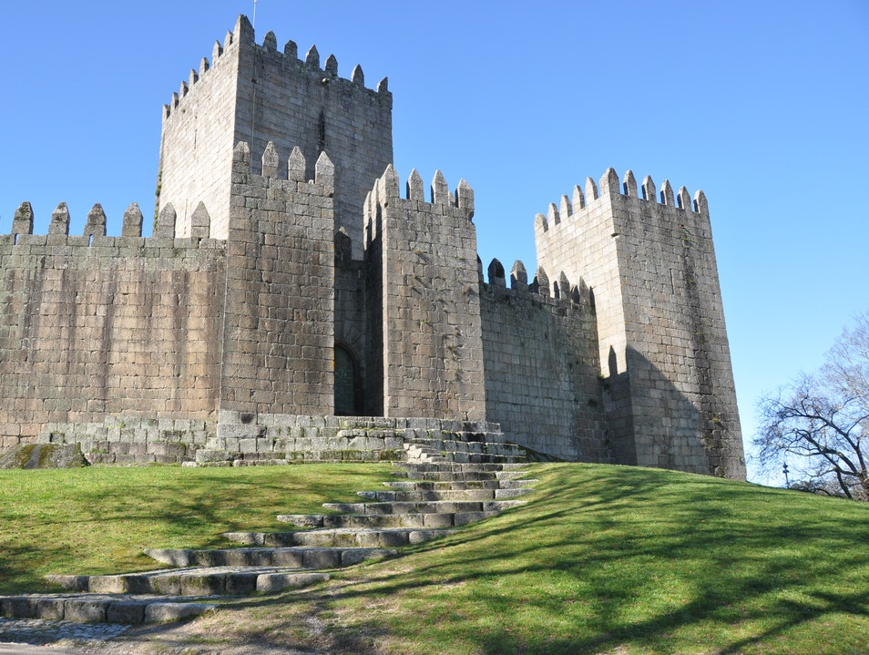 The Foundation of Portugal - A castle and its battles Guimaraes  Portugal