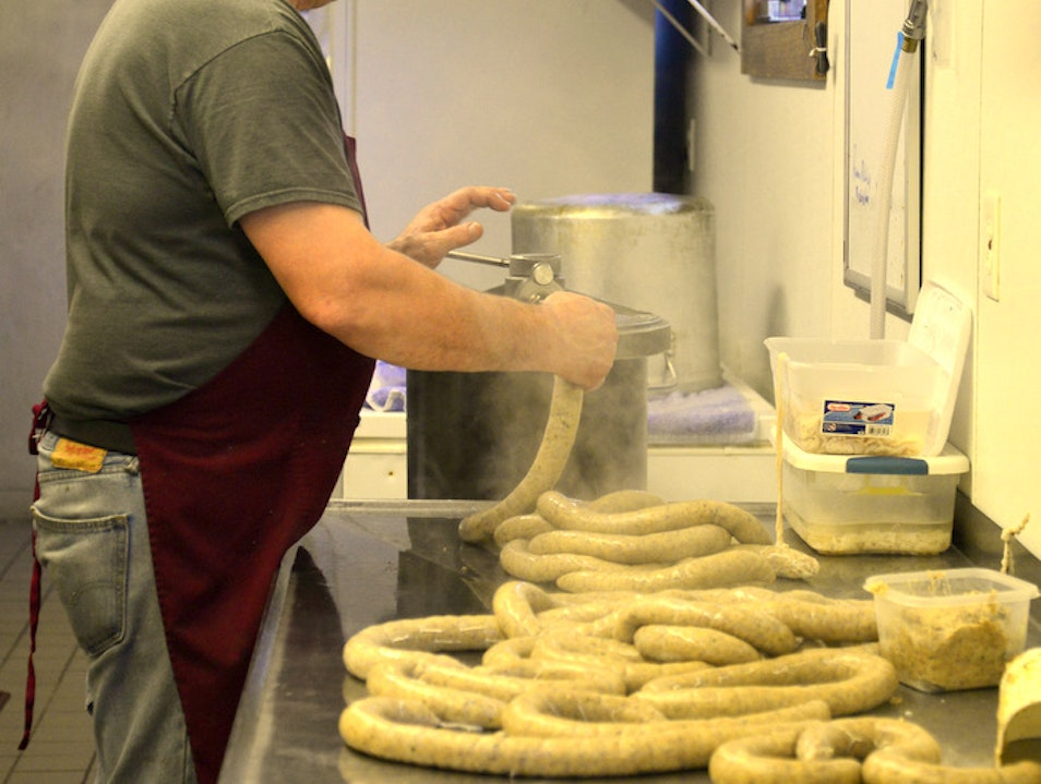 Third Generation Boudin Maker Rocks Cracklins Too   Sulphur Louisiana United States