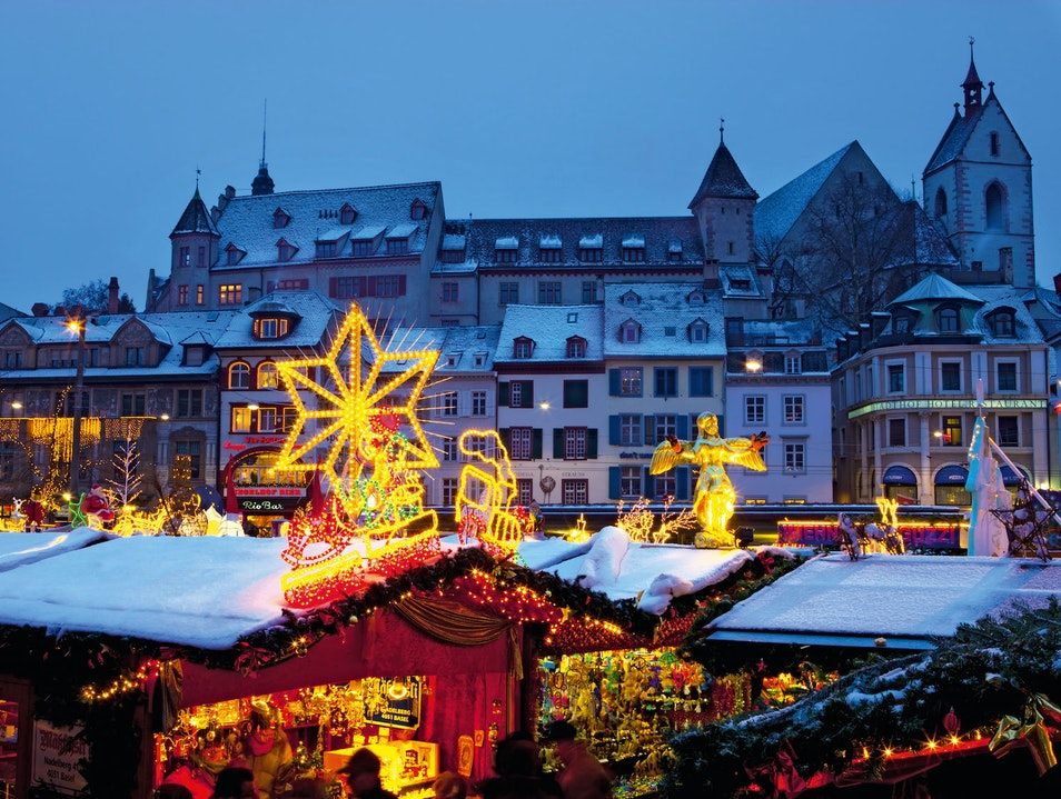 Switzerland's Biggest, Best, and Brightest Basel  Switzerland