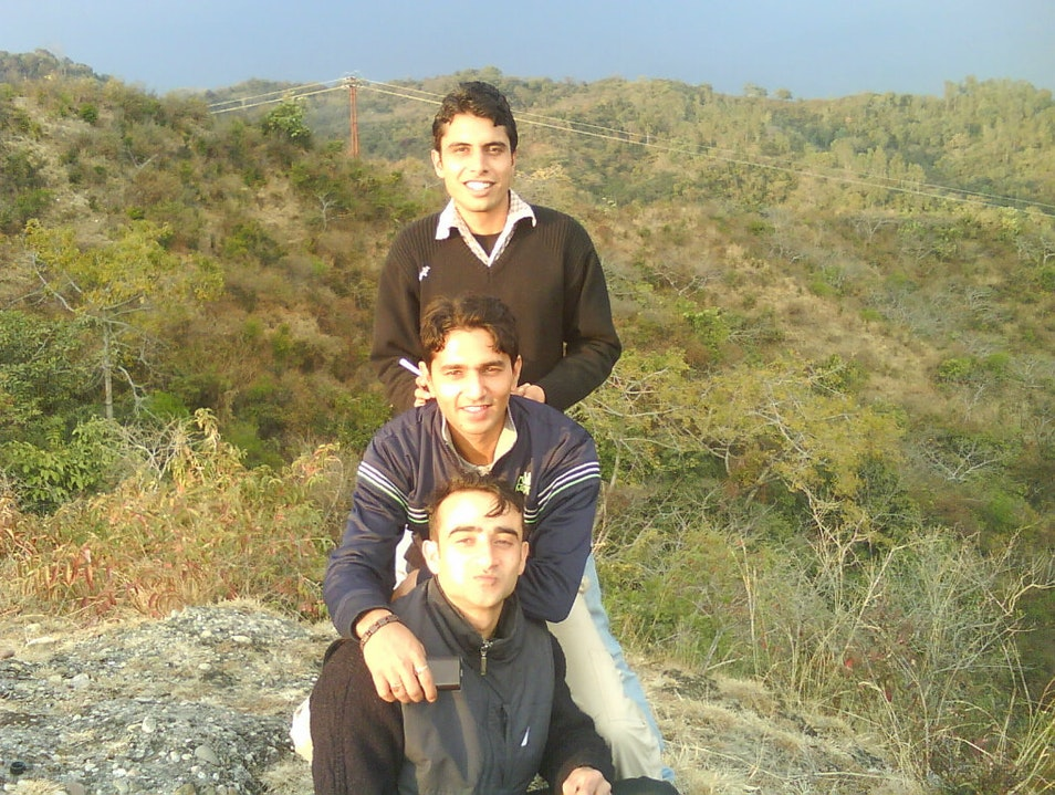 Jungle Hiking, with my friends!!! Kangra  India