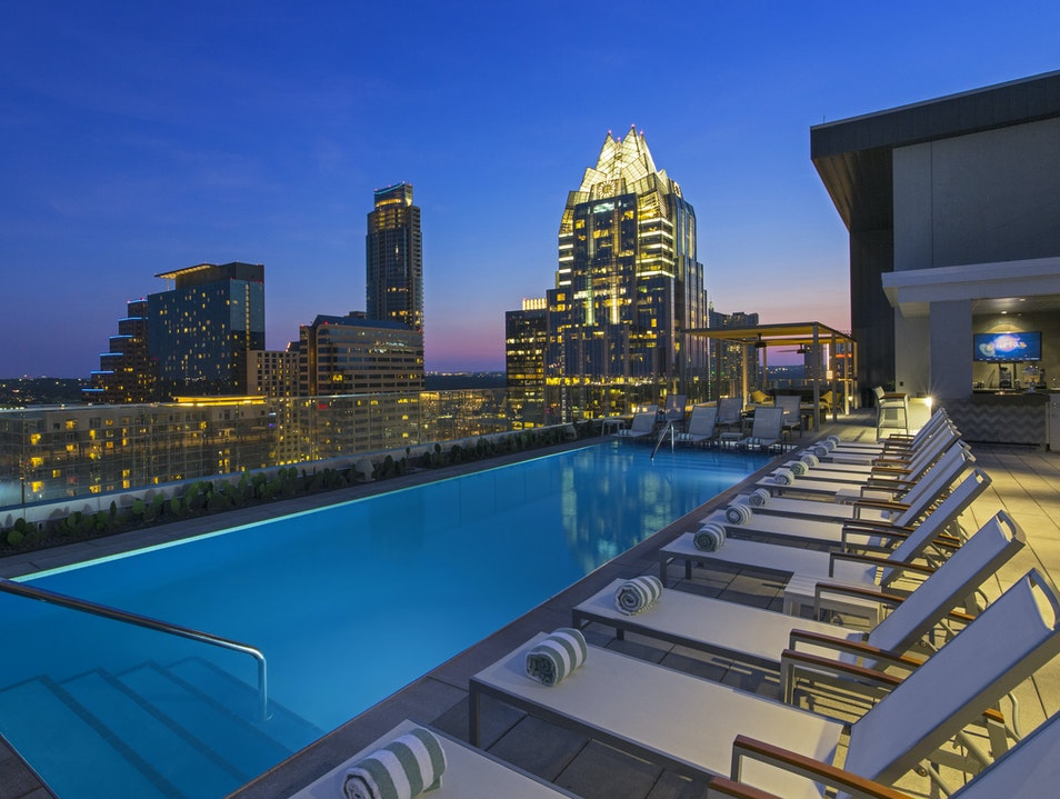 Soak in summer at Azul Austin Texas United States