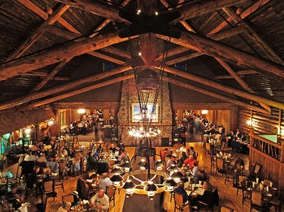 Old Faithful Inn Dining Room Yellowstone National Park Wyoming United States