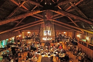 Old Faithful Inn Dining Room