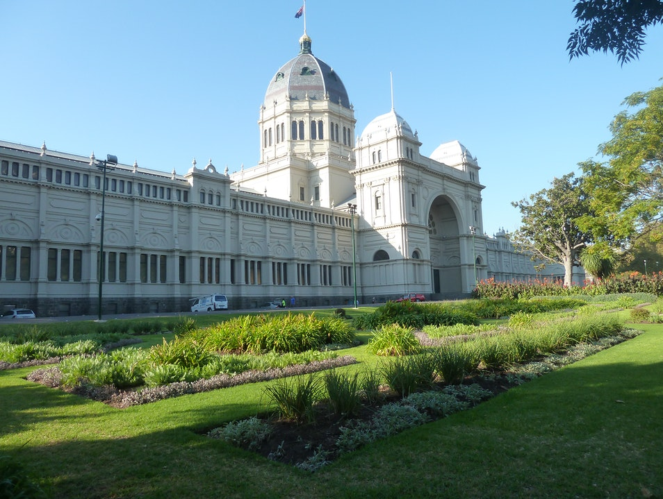 Something Old: Royal Exhibition Building